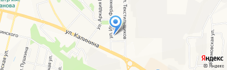 Противопожарная автоматика и охранно-пожарная сигнализация на карте Чебоксар
