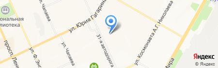 СтройКлимат Сервис на карте Чебоксар