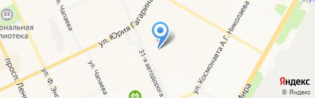 Бош Термотехника на карте Чебоксар