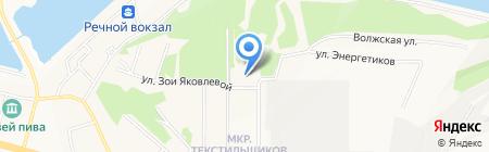 Илемби на карте Чебоксар
