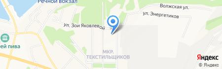 Викинг-Ч на карте Чебоксар