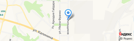 Меха Екатерина на карте Чебоксар