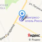 Россия на карте Чебоксар