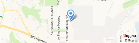 АВТОКАРД на карте Чебоксар