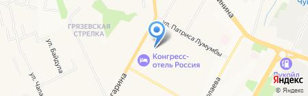 Первый на карте Чебоксар