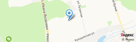 Оздоровительный комплекс на карте Чебоксар