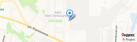 Электропром на карте Чебоксар