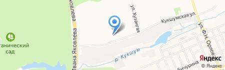 Таzик Ка на карте Чебоксар