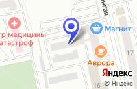 Схема проезда до компании АСТОР в Чебоксарах