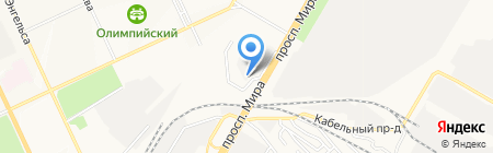 САТ на карте Чебоксар