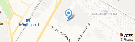Ядринмолоко на карте Чебоксар