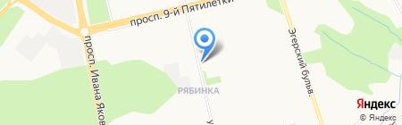 Купец на карте Чебоксар