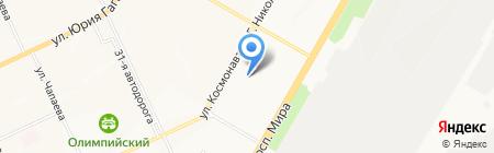Чебоксарская детская школа искусств №1 на карте Чебоксар