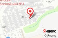 Схема проезда до компании Эвакуация автомобилей 1-ый в Александровке