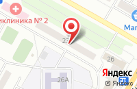 Схема проезда до компании Астра-М в Чебоксарах
