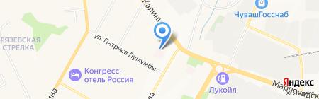 Президентский перинатальный центр на карте Чебоксар