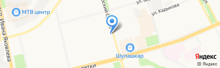Татфондбанк на карте Чебоксар