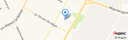 МГУТУ на карте Чебоксар