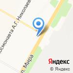 ШИК на карте Чебоксар