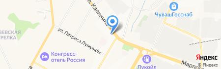 Народная дружина г. Чебоксары на карте Чебоксар
