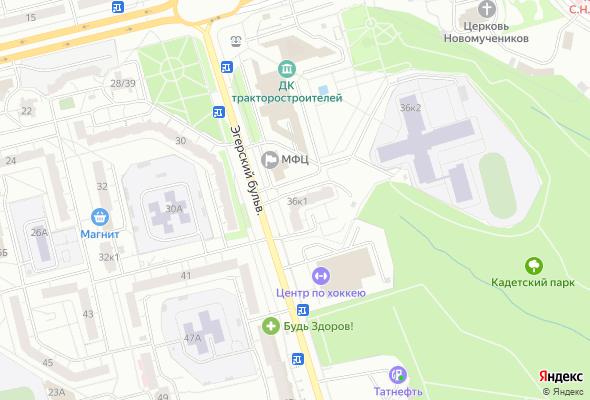 ЖК бульвар Эгерский 36