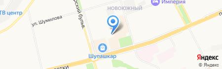 Промснабкомплект на карте Чебоксар
