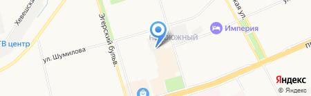 КомфортТехСервис на карте Чебоксар
