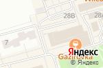 Схема проезда до компании Акконд в Чебоксарах