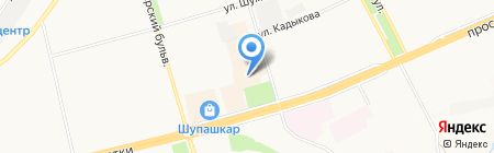 Мастерская по ремонту часов на карте Чебоксар