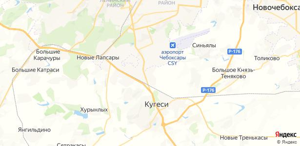 Альгешево на карте