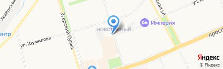 Автостоянка на ул. 324 Стрелковой дивизии на карте Чебоксар