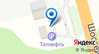 Компания АЗС Tatneft на карте