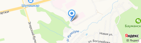 Экоцентр на карте Чебоксар