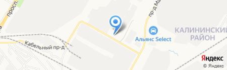 ЭлТехника на карте Чебоксар