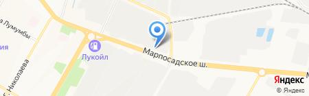 BRANDOG на карте Чебоксар