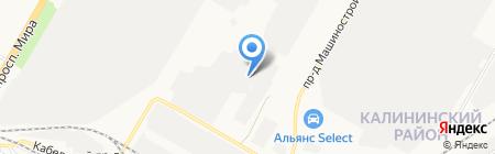 СТэП на карте Чебоксар