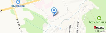 Городской перинатальный центр на карте Чебоксар