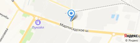 АГЗС на карте Чебоксар