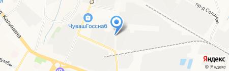 Спецводмонтаж на карте Чебоксар