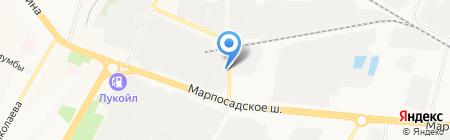 Промгаз на карте Чебоксар