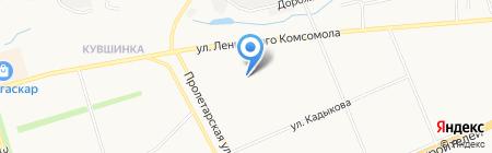 Средняя общеобразовательная школа №55 на карте Чебоксар