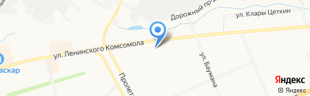 Магазин детской одежды и обуви на карте Чебоксар