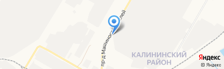 Алена на карте Чебоксар