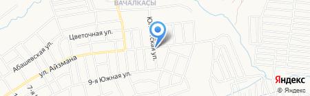 Киоск по продаже хлебобулочных изделий на карте Чебоксар
