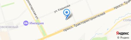 Лицей №44 на карте Чебоксар