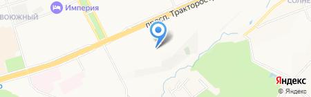 Идиллия на карте Чебоксар