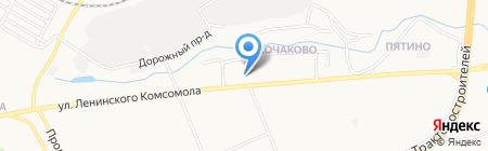 Аква Лайф на карте Чебоксар