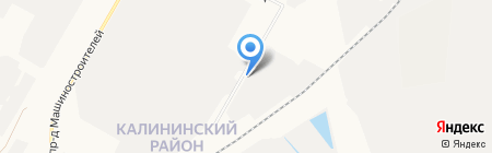 Химзавод на карте Чебоксар