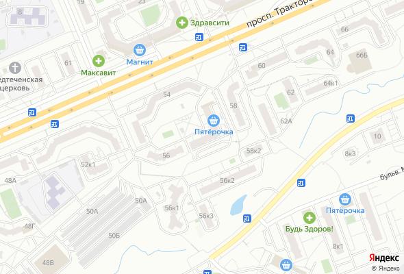 ЖК пр. Тракторостроителей (поз.11Б)
