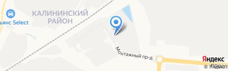Стромон на карте Чебоксар